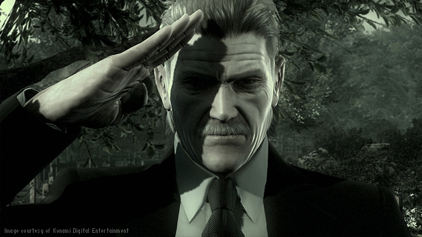 Here's to you Solid Snake.  The real protagonist of Metal Gear.