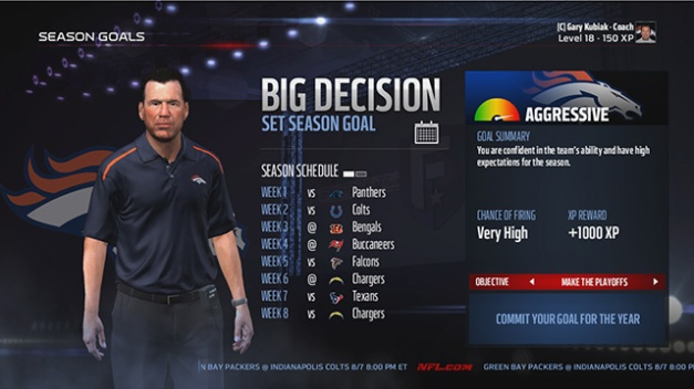Coaches Are The Least Important Aspect of Madden Franchise Mode - This isn't a big decision... it's a non-decision.